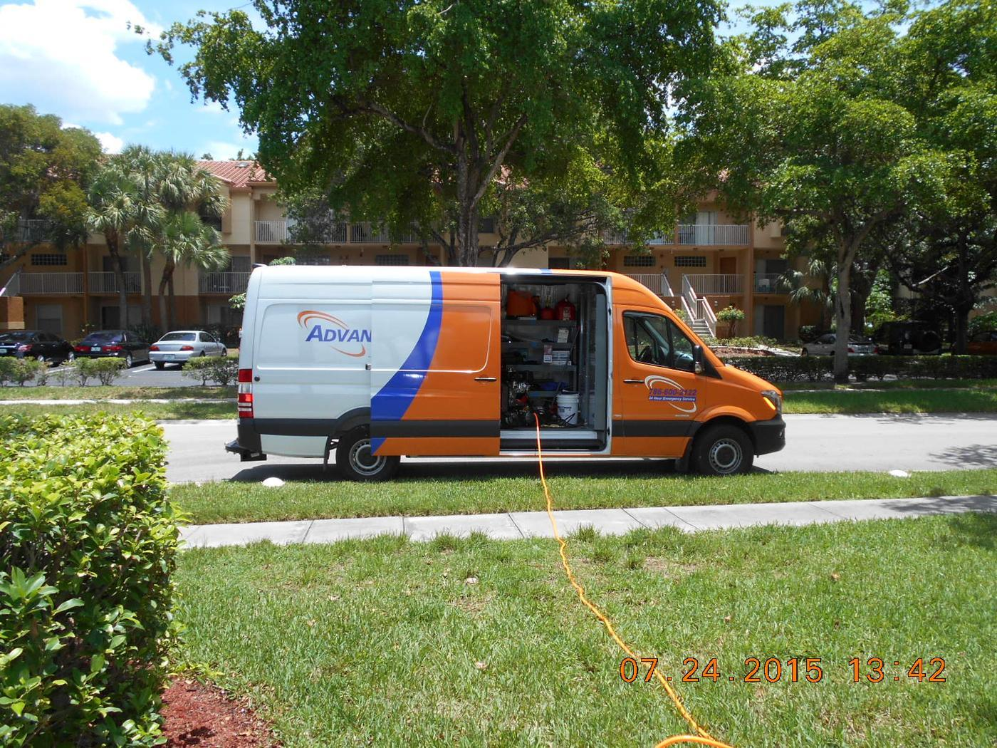 this dryer vent cleaning took AdvantaClean 2 days to complete in Miramar, FL